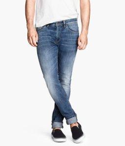 H&M Slim jeans $29.99
